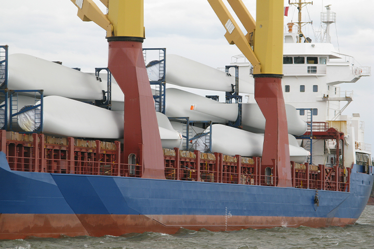 Heavy lift/General cargo ship