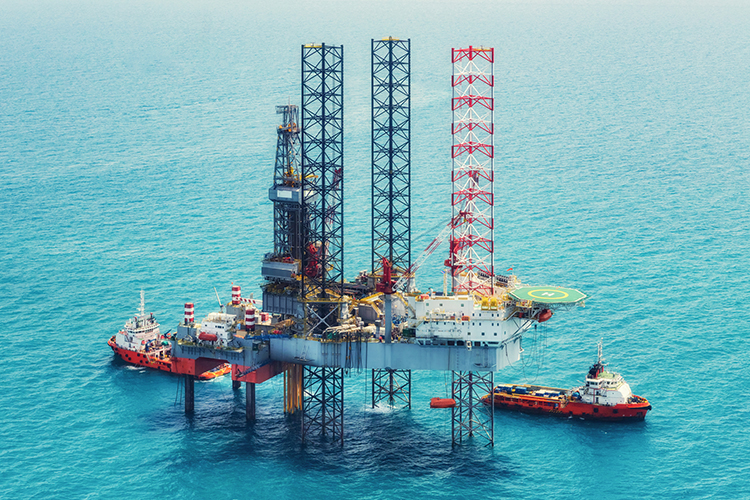 Offshore vessel and rig