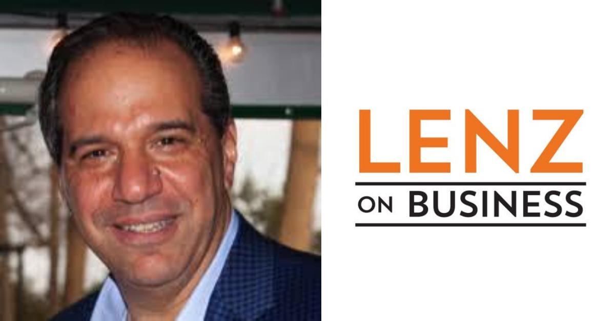 Headshot of Horizon CEO and Lenz on Business logo.