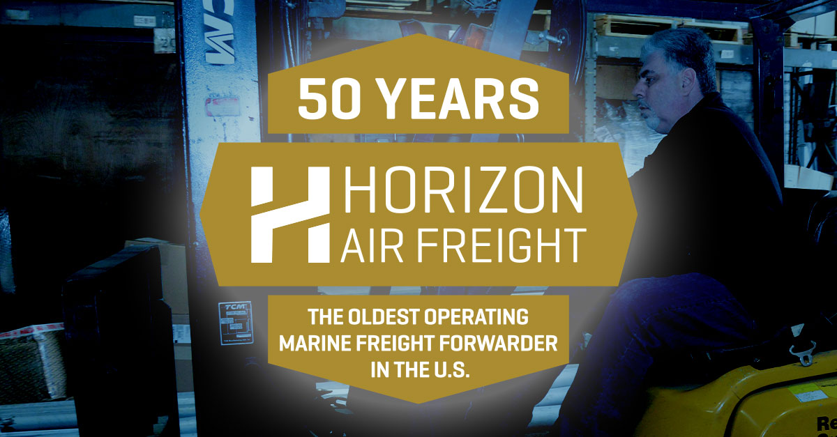 Horizon Air Freight 50 Year Anniversary