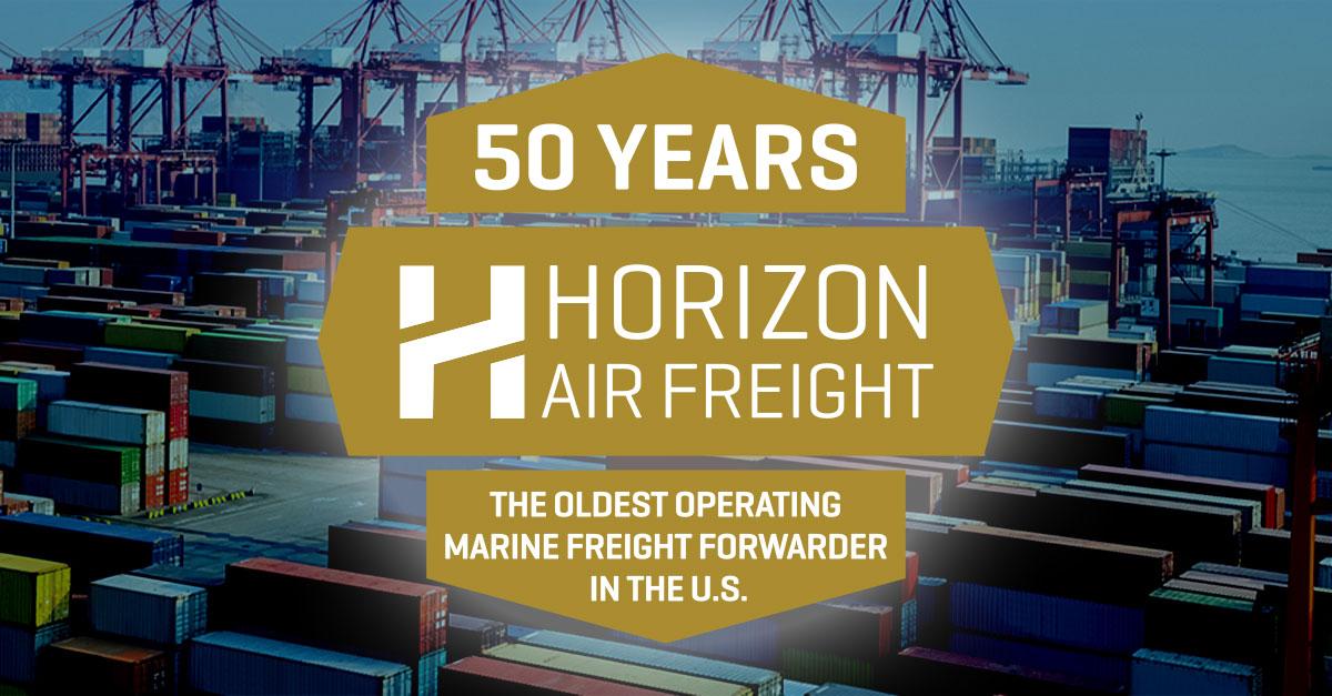 Horizon Air Freight 50 Year Anniversary